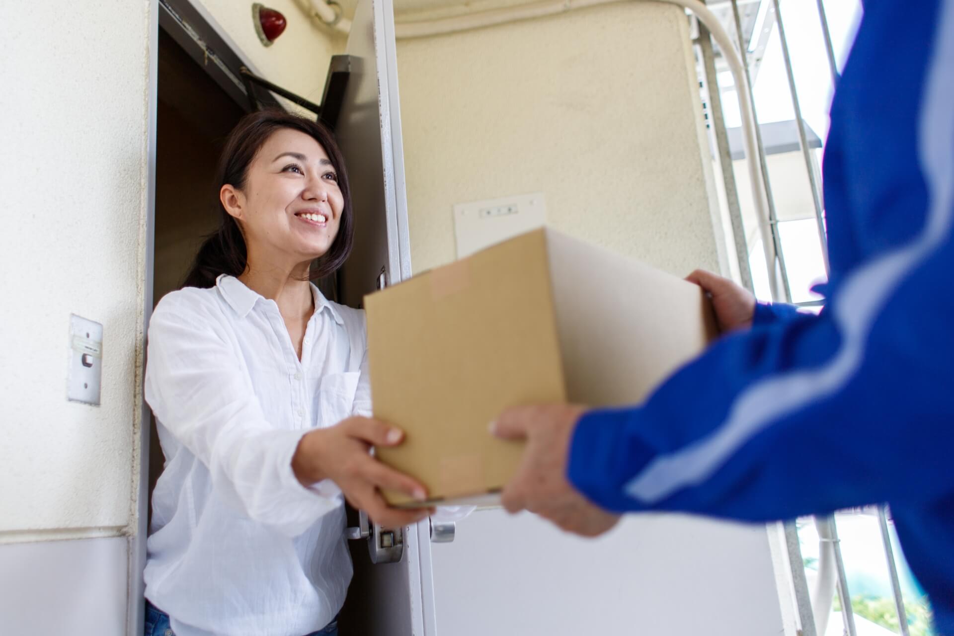 日本郵便のe 受取チョイスは車庫・郵便受け・メーターボックスに荷物を入れてくれる